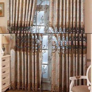 Luxury Beautiful European Style Curtain